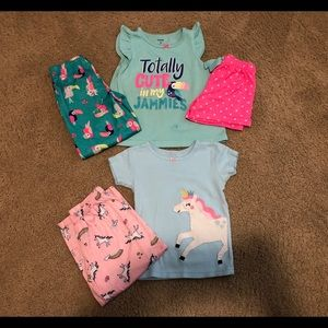 Carter's 2 Sets of Pajamas 3T